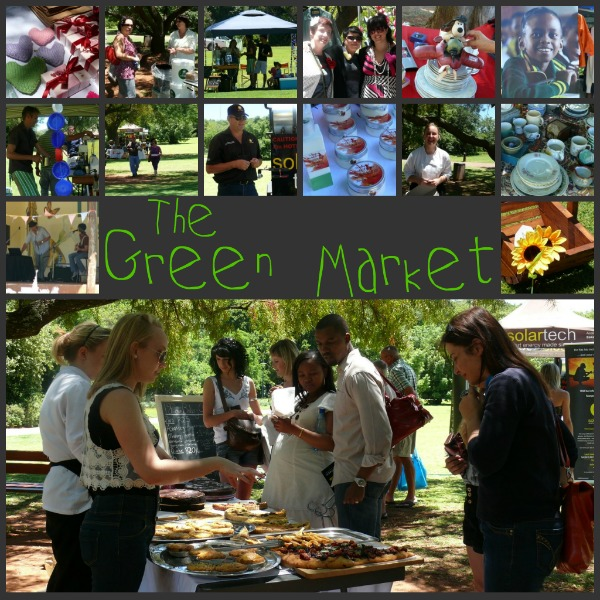 The Green Market at The Botanical Gardens in Pretoria
