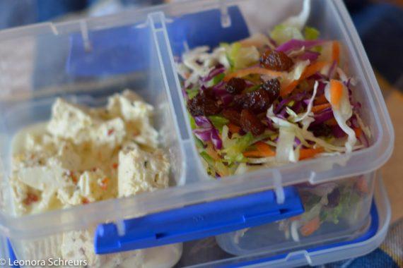 multi colour cabbage summer salad